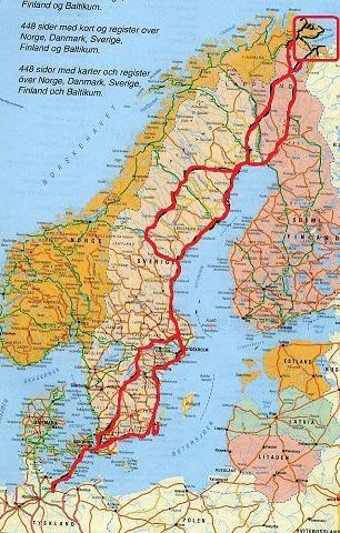 scandinavia 2009